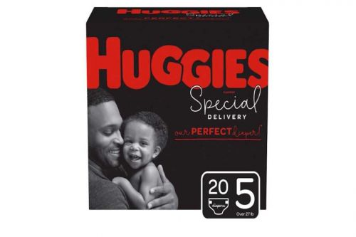 Huggies features dads on diaper box for first time