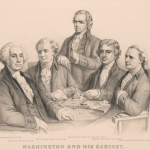 1791: First cabinet meeting