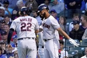 Indians beat Cubs 4-0, lose Civale to finger injury