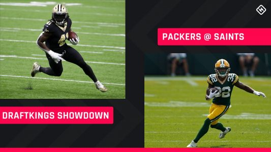 Sunday Night Football DraftKings Picks: NFL DFS lineup advice for Week 3 Packers-Saints Showdown tournaments
