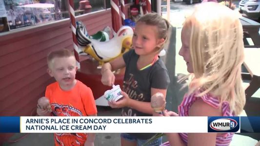 Arnie's Place in Concord celebrates National Ice Cream Day