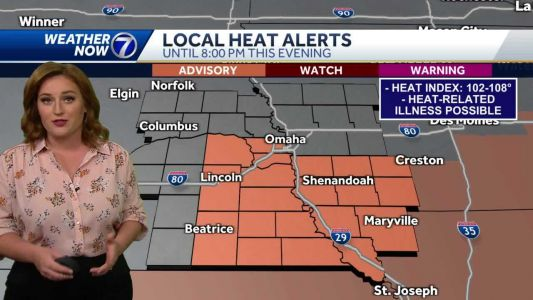 Hot again Sunday, heat wave continues