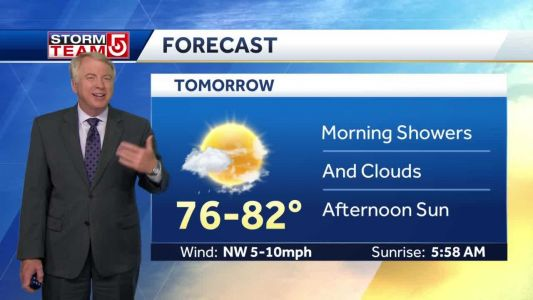 Video: Storms overnight and into Friday morning