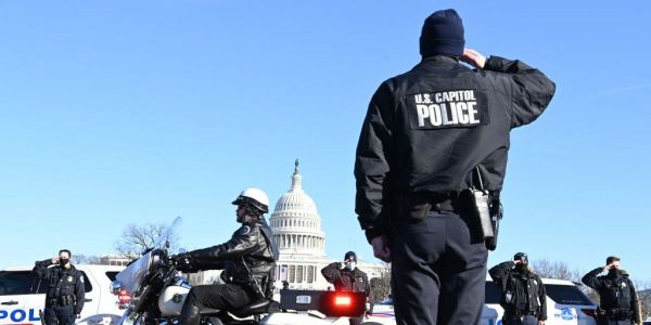 The FBI is investigating 37 people in connection with the killing of Capitol Police officer Brian Sicknick