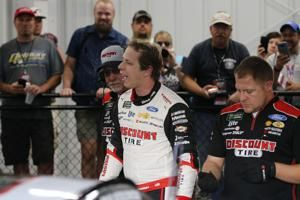 Keselowski wins pole for Cup race at Richmond