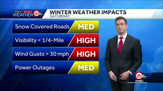 Weekend winter storm will bring blowing snow, colder temperatures