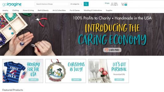 'It's basically changing nothing while changing everything': Man creates online marketplace with a twist