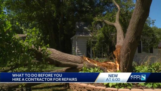 Attorney General's Office gives tips around potential contracting scams after derecho