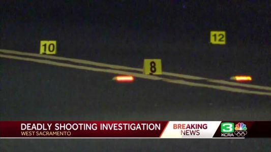 1 person dead after shooting, car crash into home in West Sacramento