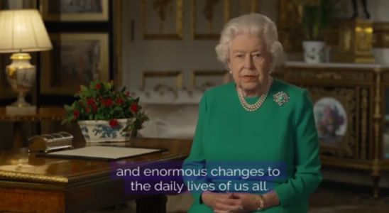 Queen Elizabeth calls for unity during the coronavirus pandemic
