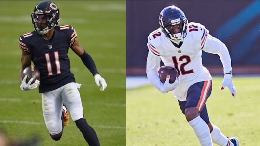 Allen Robinson and Darnell Mooney have been named the 2020 Brian Piccolo Award winners