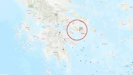 5.1-magnitude earthquake hits Athens, prompts panic & evacuations