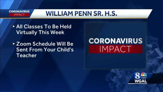 William Penn Senior High School switches back to remote learning