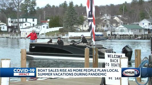 Boat sales boom in NH, following national trends