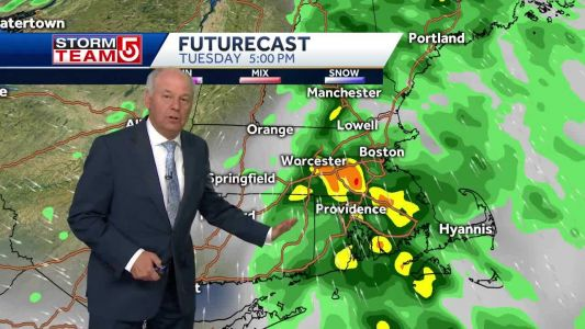 Video: More storms likely across parts of Mass. this evening