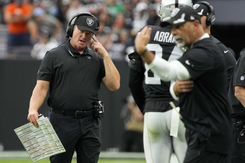 Jon Gruden reportedly resigns as Las Vegas Raiders coach after more insensitive emails are discovered