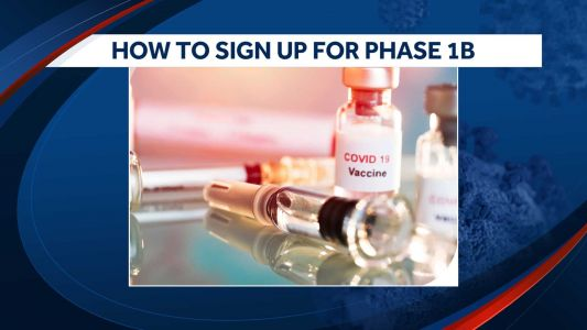 Step by step: How to sign up for the COVID-19 vaccine through New Hampshire's Phase 1B