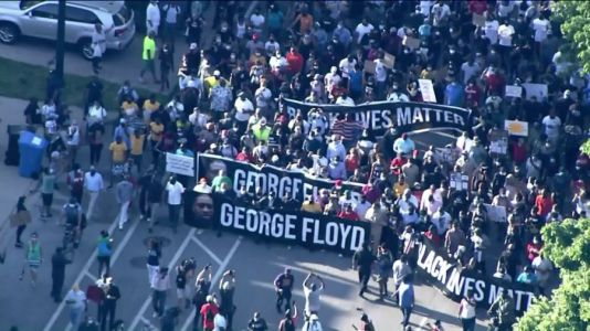 Marches held in Bronzeville, Lincoln Park as George Floyd protests continue