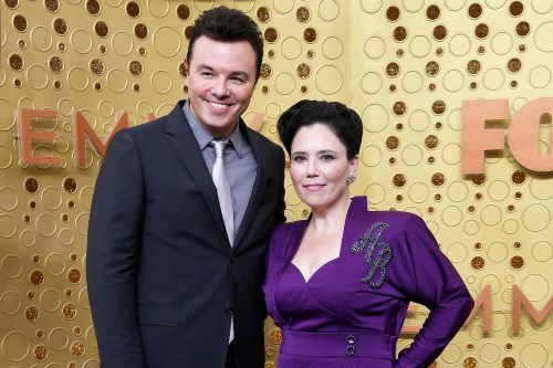 Seth MacFarlane and Alex Borstein attend the 2019 Emmys together