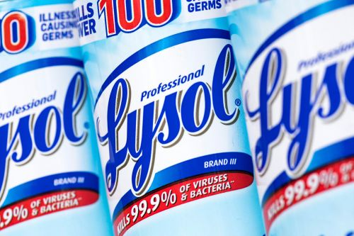 EPA approves use of Lysol disinfectant on surfaces to protect against coronavirus