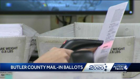 Butler County election officials pressing through the weekend to process mail-in ballots