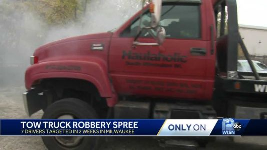 Seven tow truck drivers robbed at gunpoint in Milwaukee in three weeks