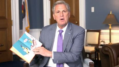 'At least hold the pictures up': House GOP leader receives poor reviews for Dr. Seuss reading amid censorship controversy