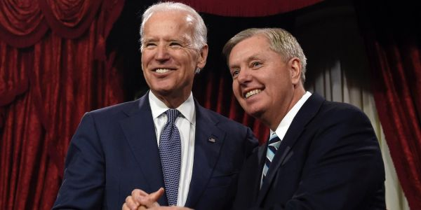 Lindsay Graham called Joe Biden 'as good a man as God ever created' in a resurfaced 2015 interview