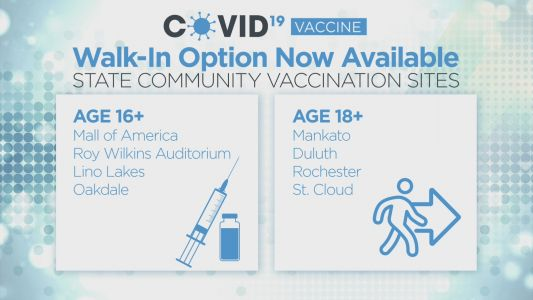 COVID In Minnesota: MDH Reports 1,321 Cases, 8 Deaths As Nearly 48% Of Eligible Minnesotans Are Fully Vaccinated