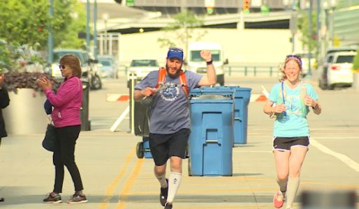 Runners participate in virtual Flying Pig Marathon weekend