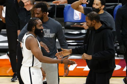 Kevin Durant injury isn't spoiling Nets trio's All-Star moment