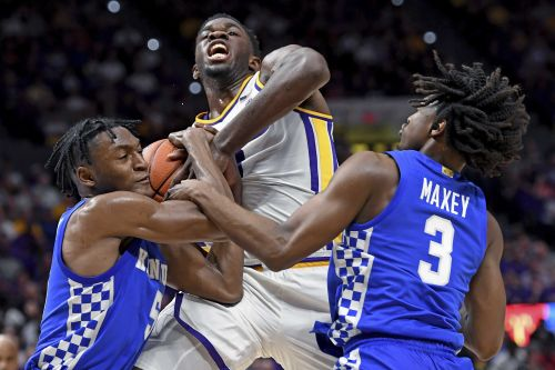 Quickley leads No. 10 Kentucky past slumping LSU 79-76