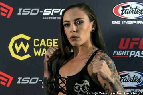 Beauty and a beast: Alternative model Micol DiSegni's journey to UFC doorstep wasn't pretty
