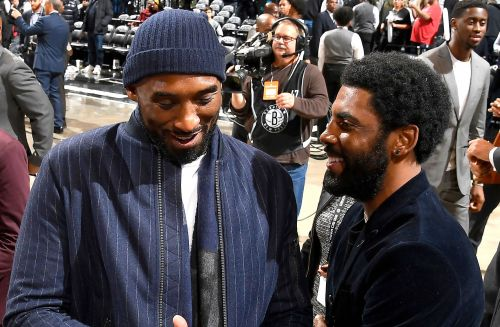 Kyrie Irving renews push to make Kobe Bryant the NBA logo