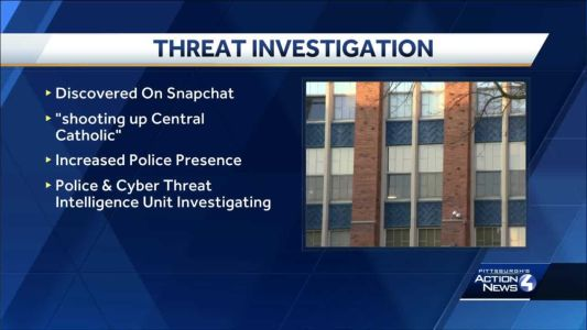 Police to increase security at a Pittsburgh high school following social media threat