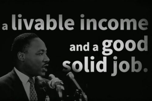 Martin Luther King Jr.'s speech at Stanford: Genuine equality