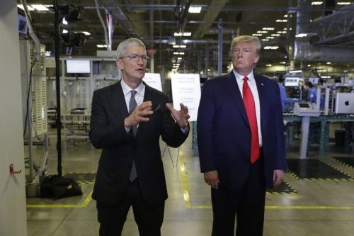 President Trump claims he 'opened' Apple's Mac Pro plant in Texas yesterday