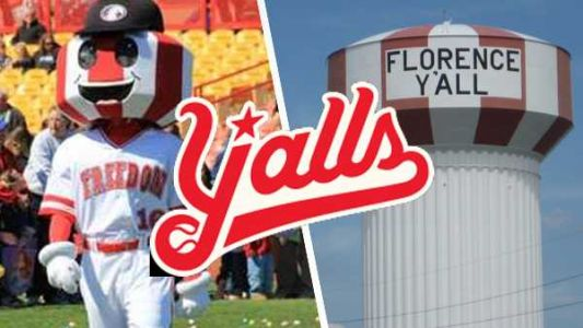 Florence Freedom baseball team renamed the Florence Y'alls