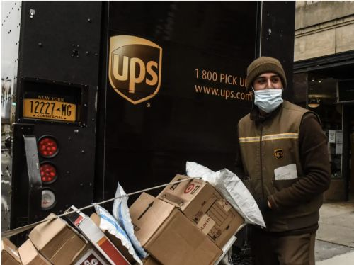 UPS CEO says the logistics giant has hit a turning point - from now on it's profits over package volume
