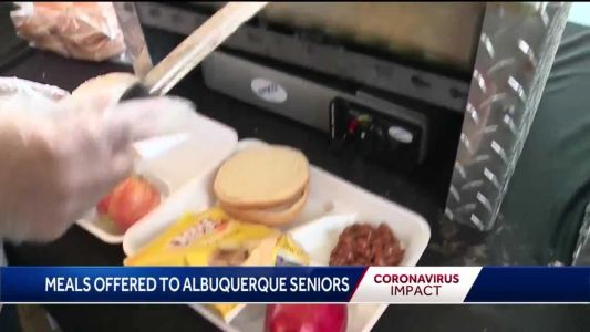 Food, supplies offered to seniors, including home delivery