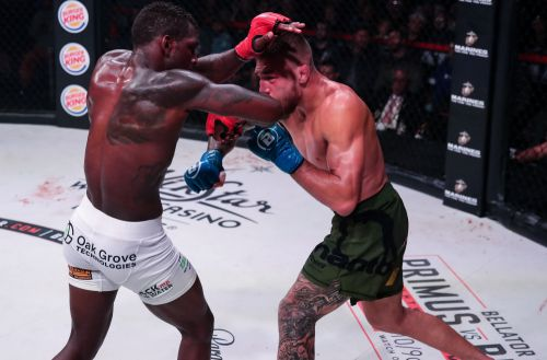Yaroslav Amosov would gladly take title shot after tough win over Ruth at Bellator 239