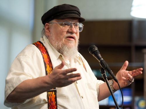 'Game of Thrones' author George R.R. Martin says he's working on a video game while he finishes the final 2 books in the series