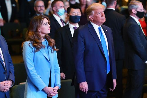 Donald Trump Attends Masks-Optional Indoor Las Vegas Church Service as COVID Cases Spike in Nevada