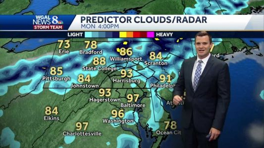Humid and turning hot this weekend