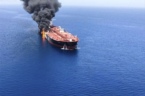 Pentagon claims new photos show Iran responsible for tanker attacks