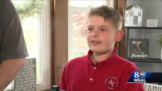 'I just want to give them a nice Christmas, a nice birthday, a nice holiday': York County boys collects toys for hospitalized kids