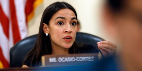 Alexandria Ocasio-Cortez slams Fox News and Tucker Carlson, saying she won't appear on a network that bankrolls a 'white supremacist sympathizer'