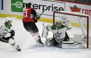 Anisimov scores in OT to lift Senators past Stars 4-3