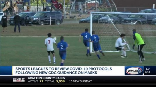 Sports leagues to review COVID-19 protocols following new CDC guidance on masks