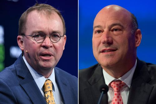 Mick Mulvaney golfs with Gary Cohn day after Trump called off Iran attack